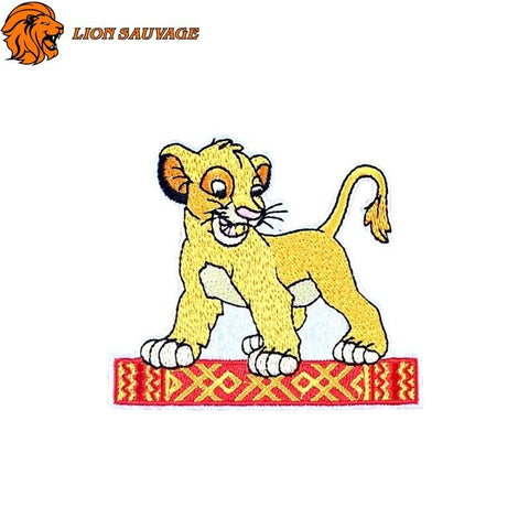 Patch Lion Jeune