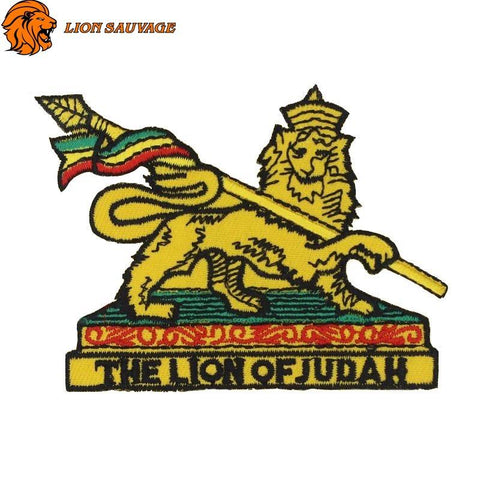 Patch Lion of Judah Thermocollant