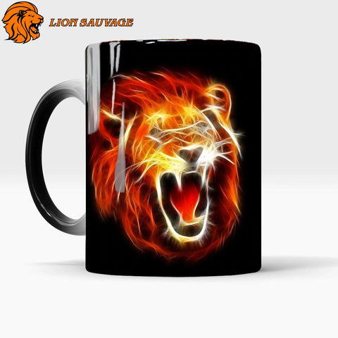 Mug Thermosensible Lion Rugissement
