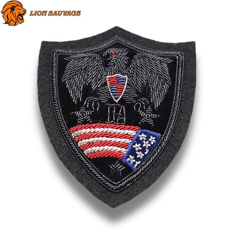 Patch Aigle<br> Conspiration<br> (À Coudre)