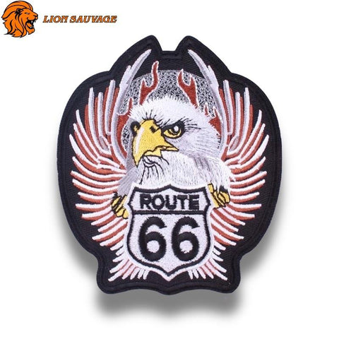 Écusson Aigle Route 66 Thermocollant