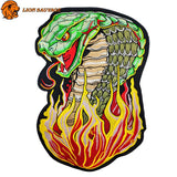 Patch Cobra Flamme Thermocollant