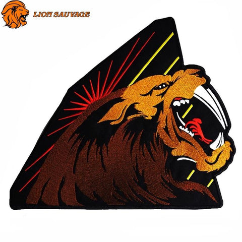 Patch Lion Futur Roi Thermocollant