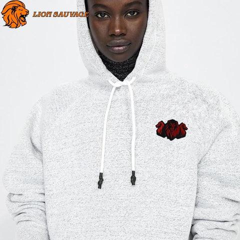Patch Lion Tribu Thermocollant sur Pull
