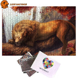 Puzzle Lion Jungle de 1000 Pièces