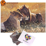 Puzzle Garde du Roi Lion 1000 Pieces