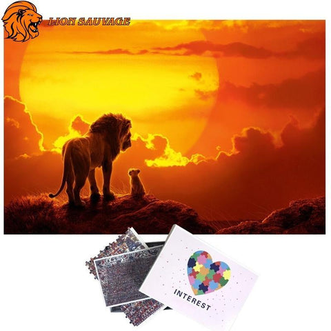 Puzzle Lion Mufasa 1000 Pieces