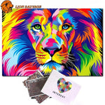 Puzzle Lion Multicolore 1000 Pieces