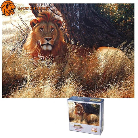 Puzzle Tete de Lion 1000 Pieces