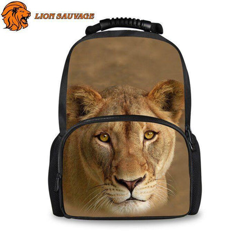 Sac a Dos Lionne Protectrice