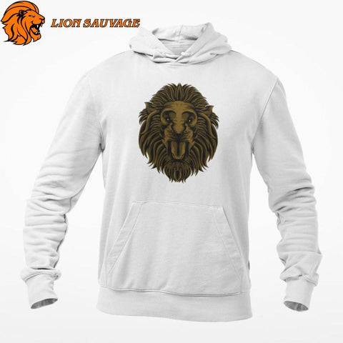 Sweat-shirt Lion Instinct Sauvage Lion Sauvage
