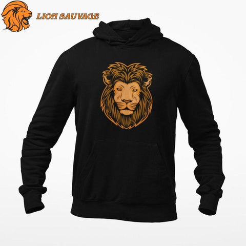 Sweat Roi Lion Iconique de lion sauvage