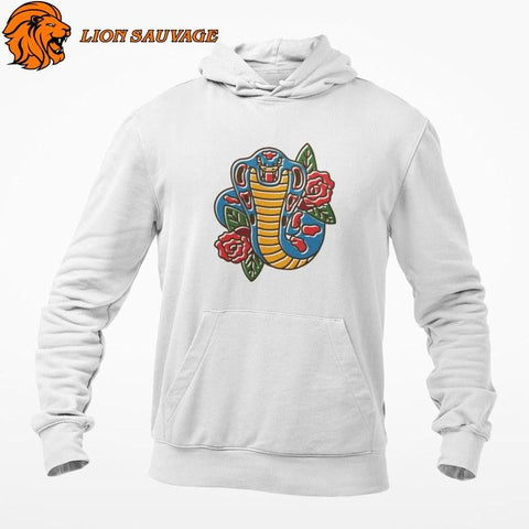 Sweat Serpent Mode Reptilienne en coton