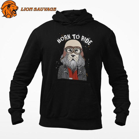 Sweat Lion Biker Lion Sauvage