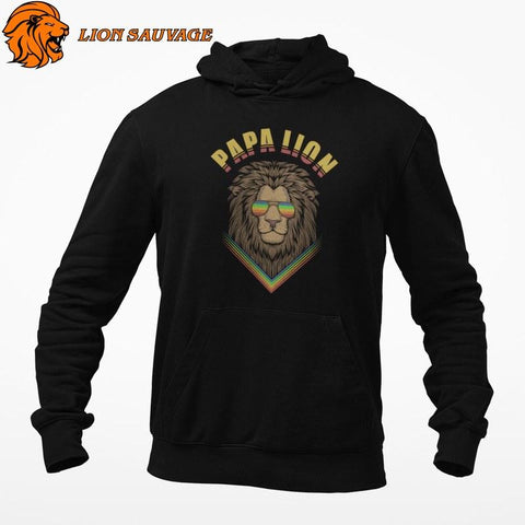 Sweat Lion Homme Responsable