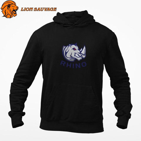 Sweat Rhino Homme Féroce Lion Sauvage