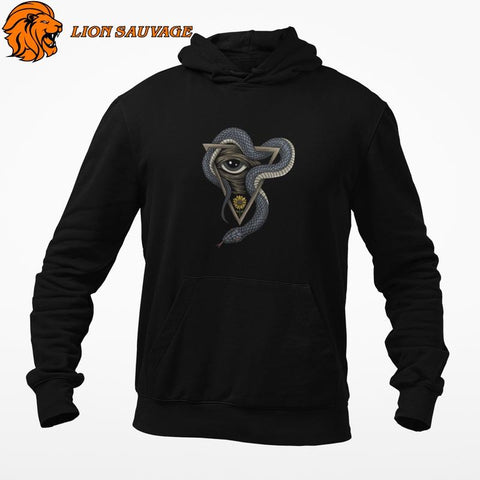 Sweat Serpent Gourou en coton