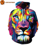 Sweat Lion Multicolore