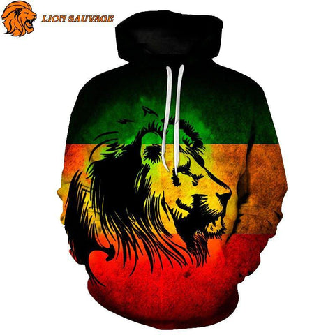 Sweat Lion Rasta de Lion sauvage