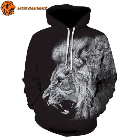 Sweat Lion Redoutable de Lion Sauvage