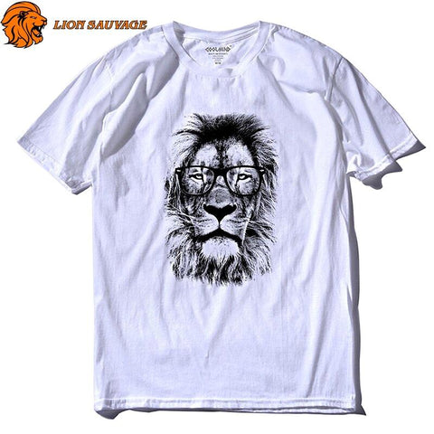 Tee Shirt Lion Design