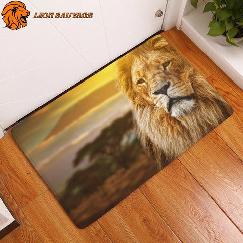 Tapis Lion Design