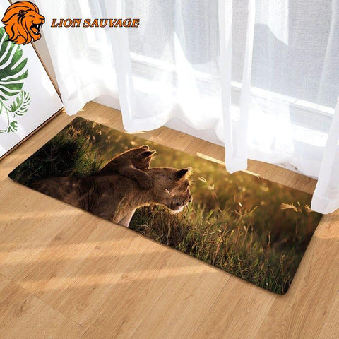 Tapis Petit Lion Grand Format
