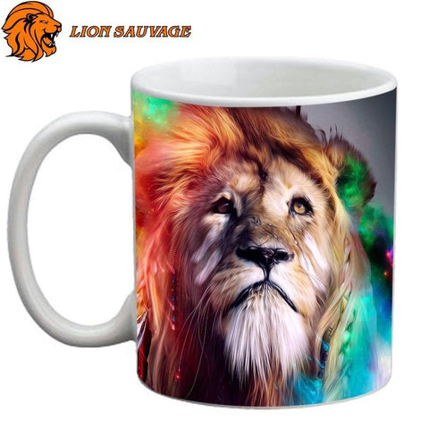 Tasse Lion Redoutable