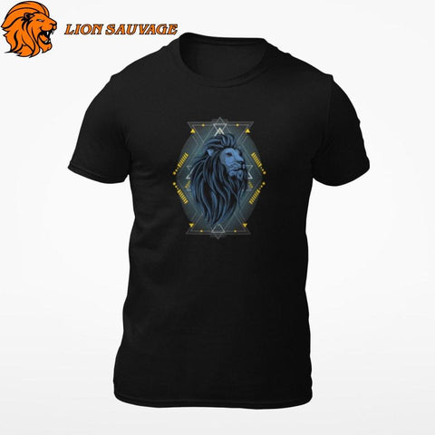 T-Shirt Lion Geek Lion Sauvage