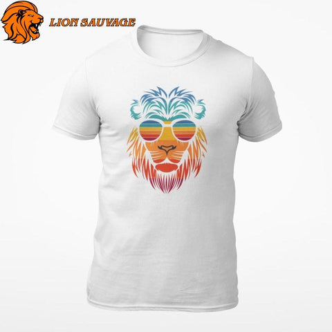 T-Shirt Lion Zen Lion Sauvage