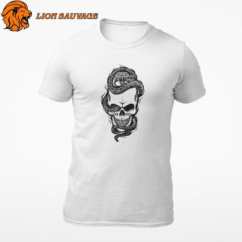 T-Shirt Serpent Biker Lion Sauvage