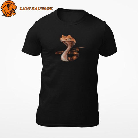 T-Shirt Serpent Cool Lion Sauvage