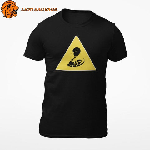 T-Shirt Serpent Danger Lion Sauvage