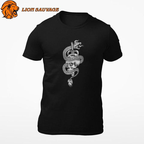 T-Shirt Serpent Motard Lion Sauvage