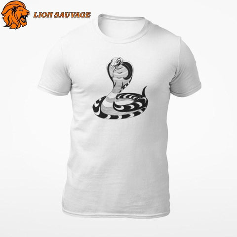 T-Shirt Serpent Homme Lion Sauvage
