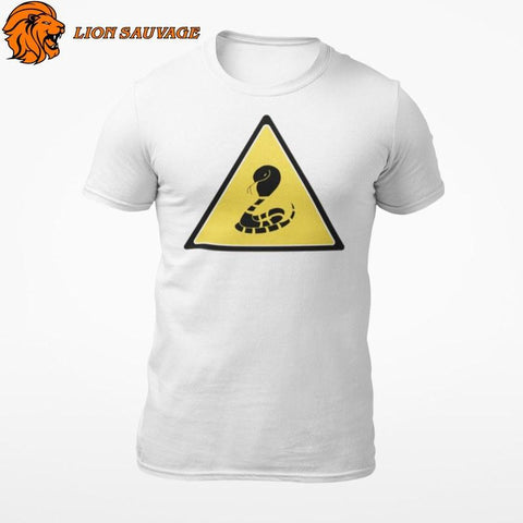 T-Shirt Serpent Interdiction Lion Sauvage