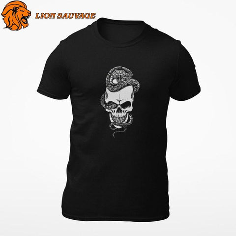 T-Shirt Serpent Moto Lion Sauvage