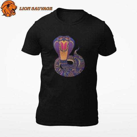 T-Shirt Serpent Multicolore Lion Sauvage