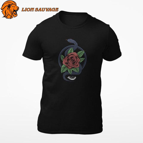 T-Shirt Serpent Mystique Lion Sauvage