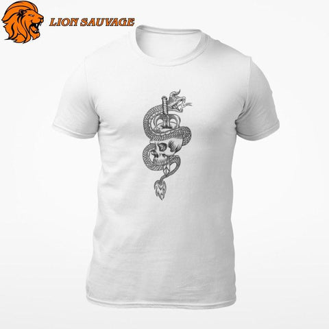 T-Shirt Serpent Protecteur Lion Sauvage