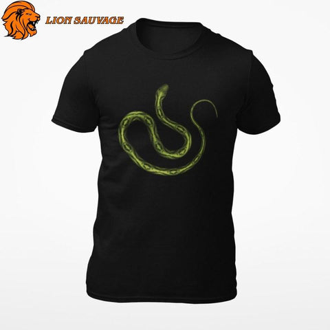 T-Shirt Serpent Reptilien Lion Sauvage
