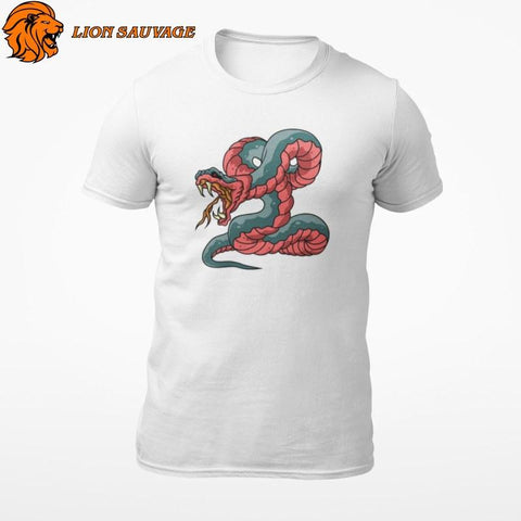 T-Shirt Serpent Venin Lion Sauvage