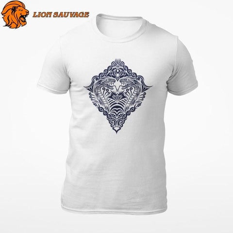 T-Shirt Serpent Vintage Lion Sauvage