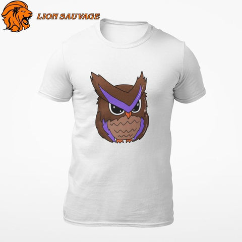 T-shirt Hibou Animation en coton