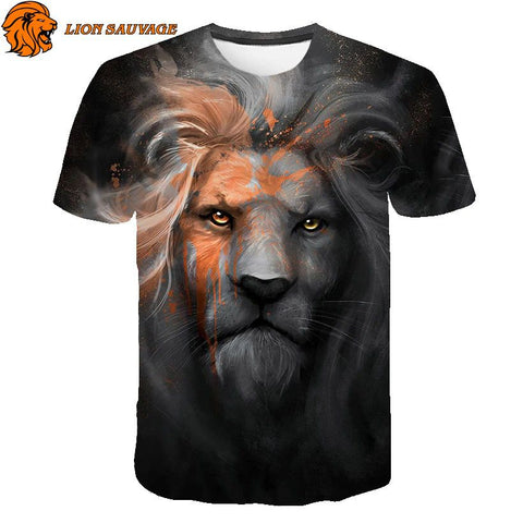 Tee Shirt Homme Lion