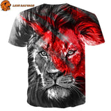 Tee Shirt Lion Felin