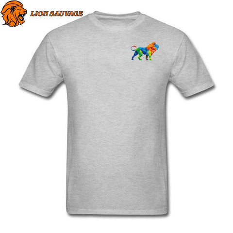 Tee Shirt Logo Lion