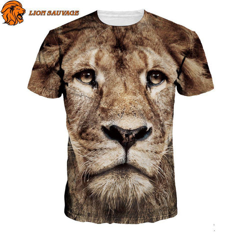 T-Shirt Tete de Lion