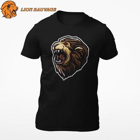 Tee Shirt Tete de Lion Dominante