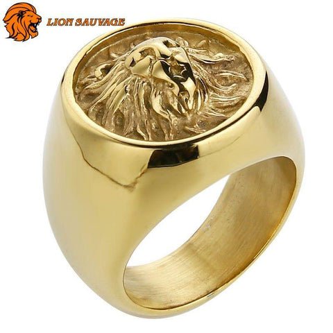 Bague Lion Dominant